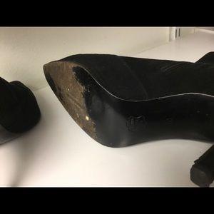 Charles Jourdan Shoes - Charles Jourdan Paris black suede boots size 10
